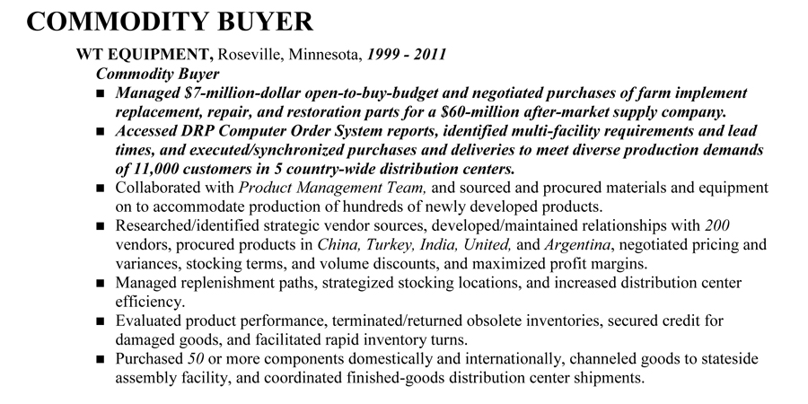 Commodity Buyer
